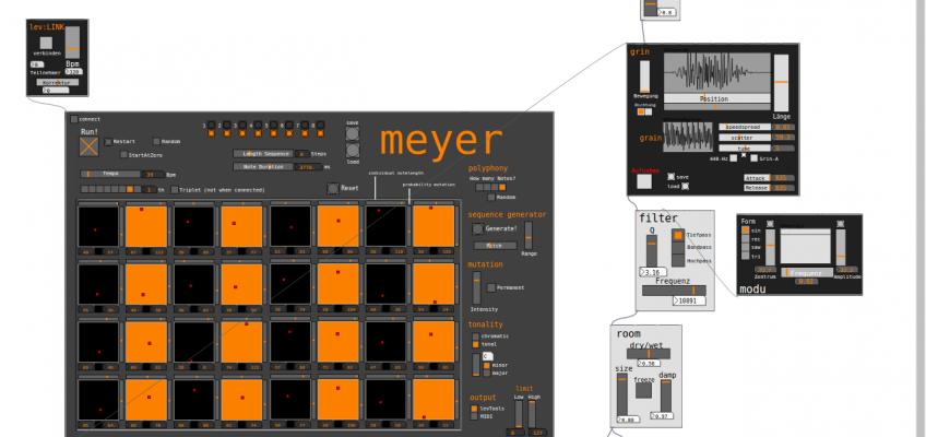 Mensch Meyer – ein etwas anderer Sequenzer